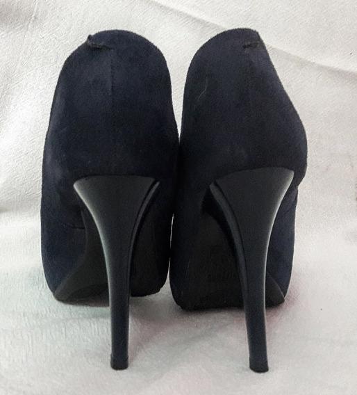 Sapato Salto Alto Azul Marinho