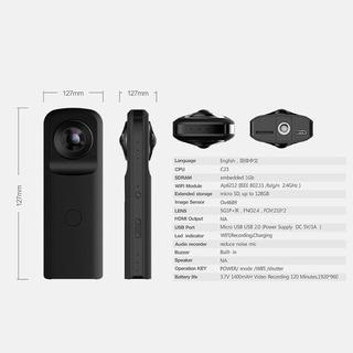 Camara 360 Grados Para Grabar Video Y Fotos, Acepto Cambios