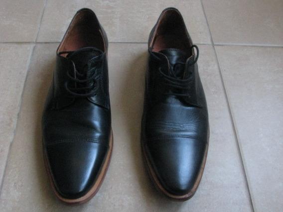 Zapatos Maggio Rossetto Hombre Negros 43 Impecables