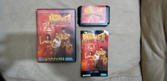 Streets Of Rage 2 Original Japonês Completo Sega Mega Drive.