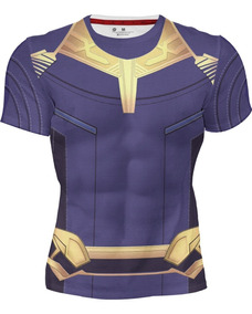 Playera Sublimada Full Print Thanos Super Villano Marvel