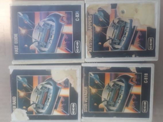 Atari 14 Fitas De Vídeo Game