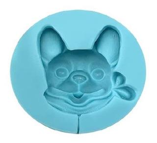 Molde De Silicon Cara De Perro Chihuahua Alegria Sil001034