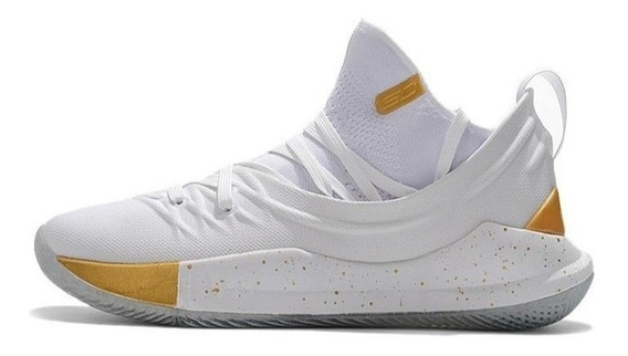 Botas Under Armour Curry 5 Caballero Original 50% Descuento