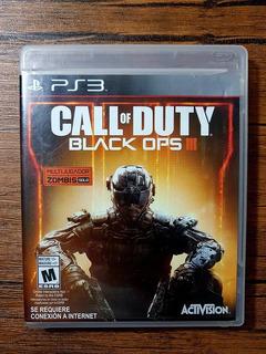 Call Of Duty Black Ops 3 Playstation 3 Ps3 Excelente Estado