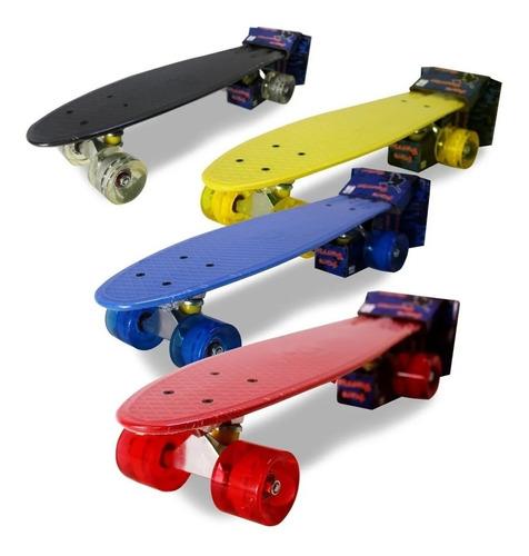 Skate Mini Cruiser Penny  Até 100 Kilos Old School