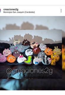 Mini Piñatas Cotillon Súper Héroes Mickey Peppa Emoticon