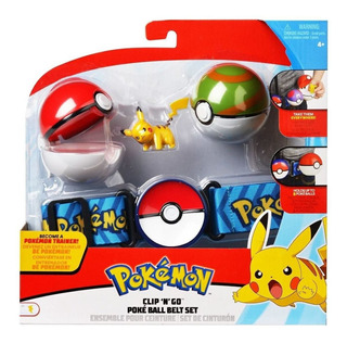 Pokemon Set De Cinturon