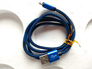 Cable Reforzado Nylon Para Datos Y Carga Lightning iPhone