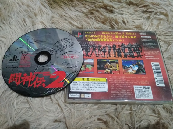 Battle Arena Toshinden 2 Original Ps1 Japonês
