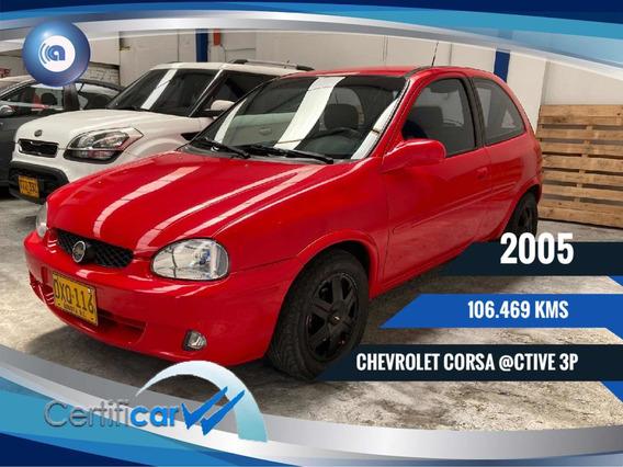 Chevrolet Corsa @ctive 3p Aa Entero