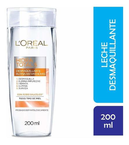 Leche Desmaquillante L'oréal Paris Hidra Total 5 Anti - Manc