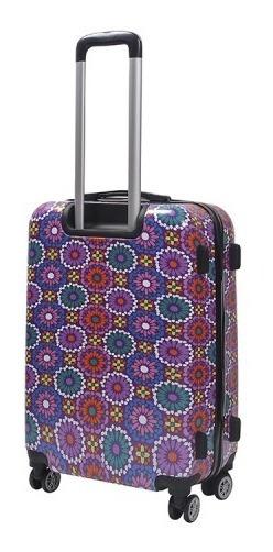 Valija Carry On N3 Trendy Estampado 8 Ruedas Spinner 26004