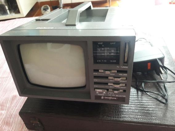Televisão 5 Polegadas, Preto E Branco Broksonic.
