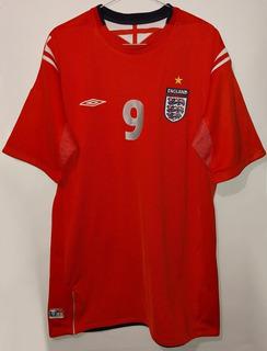 Jersey Seleccion De Inglaterra Rooney Año 2004 2006 Umbro Xl