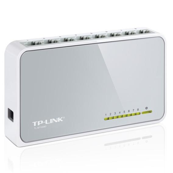 Switch Tp-link 8 Puertos 10/100 Tl-sf1008d