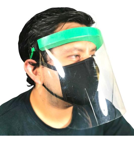 Cubrebocas Neopreno Y Máscara Protector Facial Completo Graf