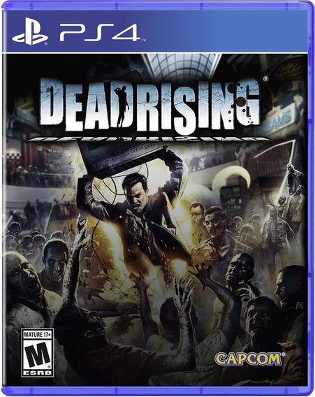Jogo Dead Rising Ps4 Remastered Mídia Física Frete Grátis!
