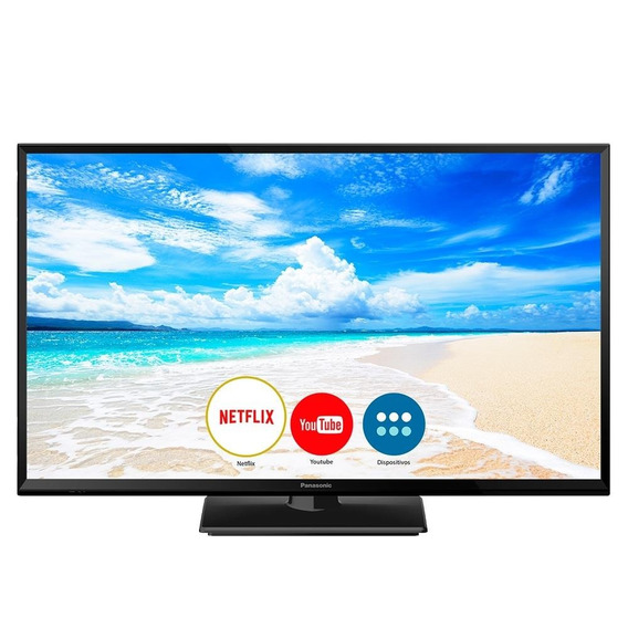 Smart Tv Led 32 Panasonic Tc-32fs600b Hd Com Wi-fi, 1 Usb