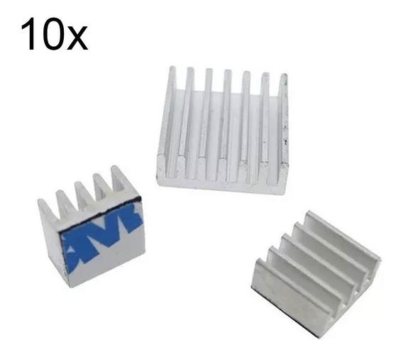 10x Dissipador Calor Raspberry Pi Lm2596 Arduino Esp Dc Dc