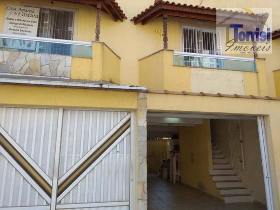 Sobrado Triplex Em Praia Grande, 02 Dormitório Sendo 02 Suites, Guilhermina, So0083 - So0083