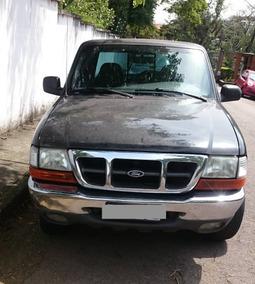 Ford Ranger Preta Xlt 4.0 V6 Gás 210cv - 80k - 2001