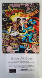 Superman Vs Muhammad Ali Novaro Español Firmado Neal Adams