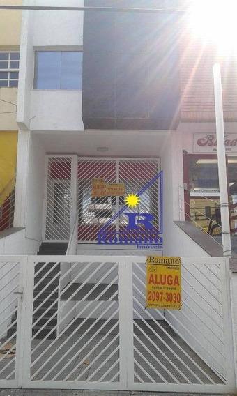 Sobrado Comercial Para Venda E Locação, Tatuapé, São Paulo. - So0726