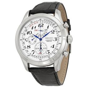 Espetacular Relógio Seiko Spc131 Neo Classic Alarm Perpetual