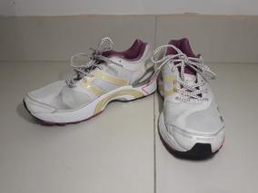 Tênis adidas Esportivo Corrida Branco E Rosa 36
