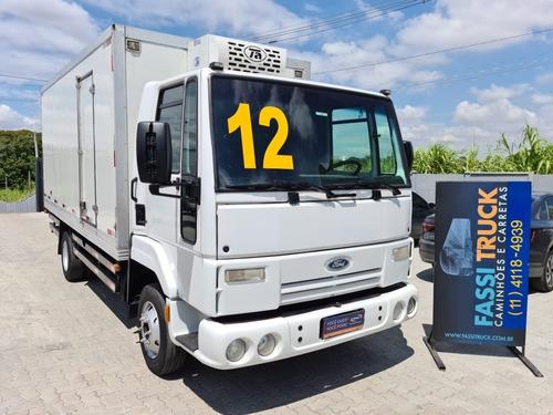 Ford Cargo 815 4x2 Bau Refrigerado -12ºc Ano 2012 Fassitruck