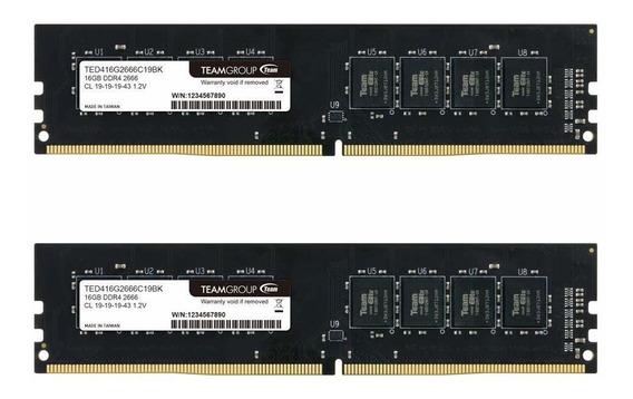 Memoria Teamgroup Elite Ddr4 8gb 2x4gb 2666mhz Pc4-21300 Cl1