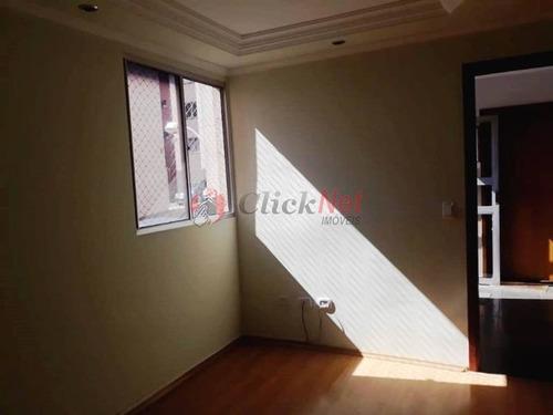 Apartamento Semi-mobiliado À Venda No Bairro Alves Dias Em São Bernardo - 6388