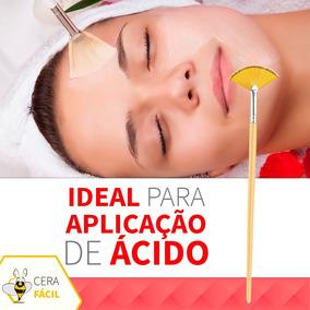 Pincel Para Aplicação Máscara E Ácido Médio Santa Clara