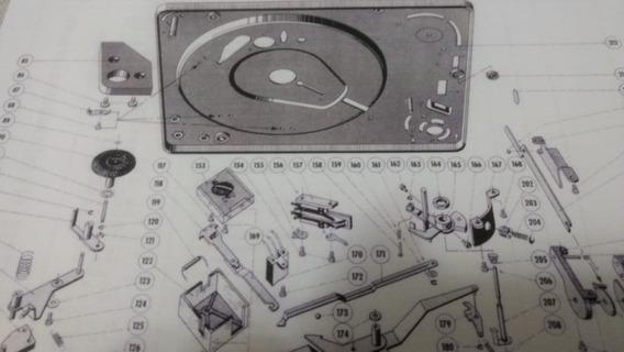 Toca Disco Dual 1210 - 1212 - 1219 São Esquemas Para Reparos