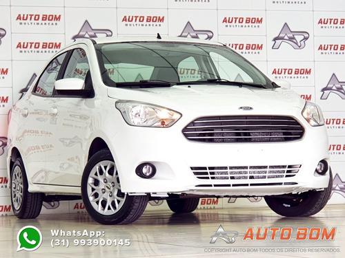 Ford Ka Sedan 1.0 Se 12v Flex C/ Farol De Neblina E Som...