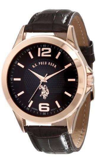 Reloj U.s Polo Ralph Lauren Assn. Oro Rosado