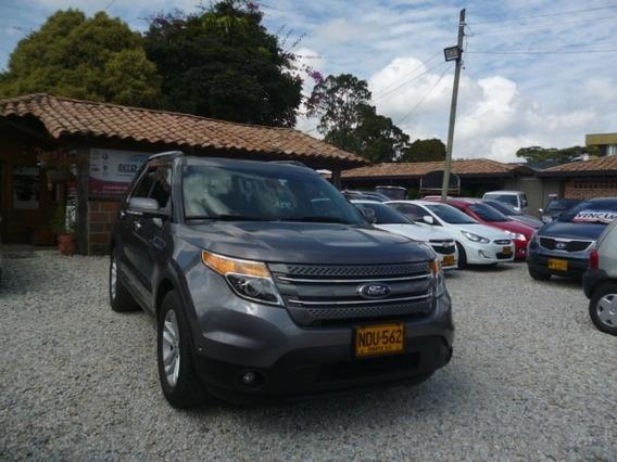 Ford Explorer Limited 2013 4*4 Gasolina Refull At/tp