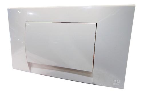 Tecla Botón Tapa Blanca Universal P/ Deposito Embutir Ideal