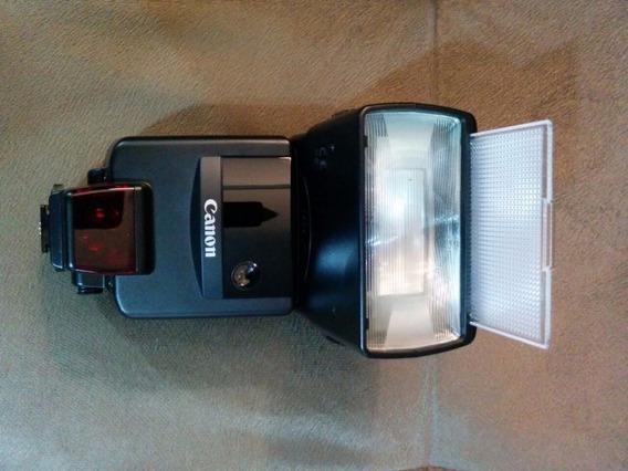 Flash Canon Analógico Speedlite 540ez A-ttl C/estojo Couro