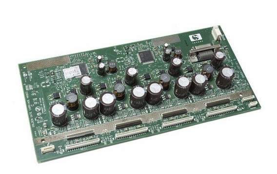 Placa Do Carro Hp Designjet Z6100 / L25500 Pn: Q6651-60338