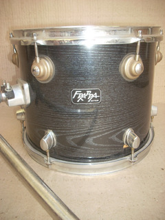 Tom 12 Bateria Frappa Y Tom Holder Adulto Percusion Parche Remo