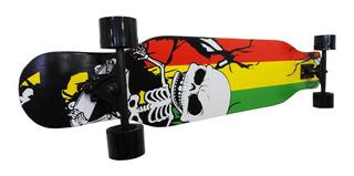 Longboard Patineta Skate Tabla De Maple Knex Mvdsport