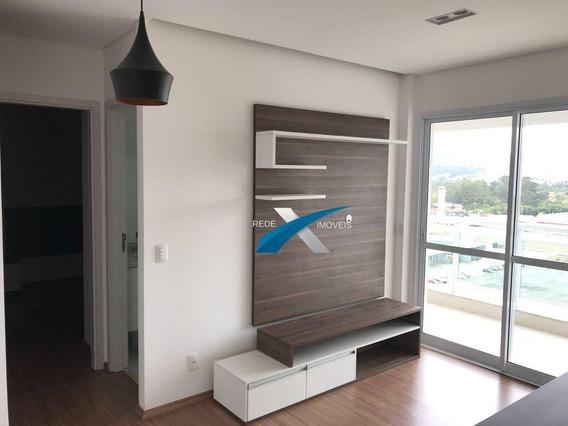 Apartamento Para Venda Com 1 Dormitório Na Vila Mogilar Em Mogi Das Cruzes - Ap5564