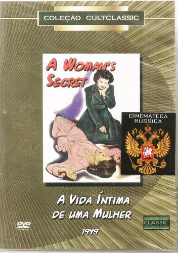 Imagem 1 de 3 de Dvd Vida Íntima De Uma Mulher, Nicholas Ray Maureen O´hara +