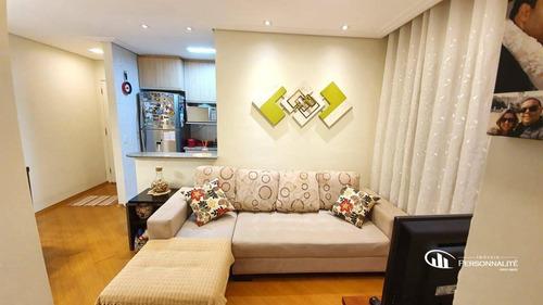 Apartamento Com 2 Dormitórios À Venda, 53 M² Por R$ 290.000,00 - Vila Gonçalves - São Bernardo Do Campo/sp - Ap0773