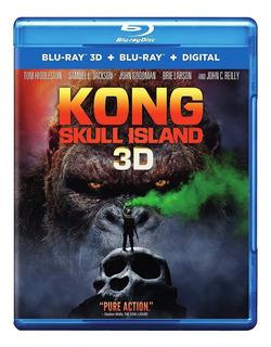 Blu-ray Kong Skull Island / La Isla Calavera (2017) 3d + 2d