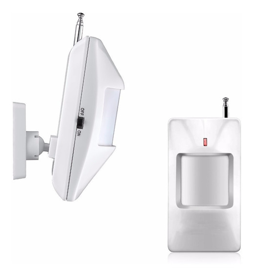 Sensor Infravermelho Sem Fio 433mhz Ic1527 Universal Alarme