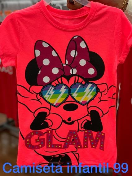 Camiseta Da Minnie Original