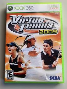 Jogo Virtua Tennis 2009 Xbox360 Mídia Física